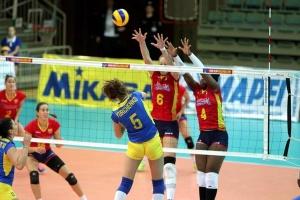 Сборная Украины проиграла бельгийкам на старте чемпионата Европы по волейболу