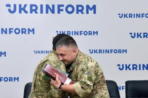 """В Укринформе наградили воинов """"Стальным крестом непобедимых"""""""