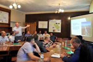 На Закарпатье состоялась встреча по поводу строительства ВЭС на Боржаве