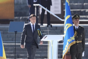 Präsident Selenskyj ruft zur Vereinigung der Zukunft willen auf