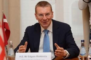 Латвия поддерживала и будет поддерживать Украину - глава МИД