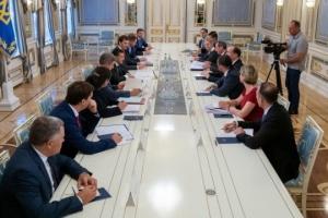Zelensky a la delegación del Banco Mundial: Nuestro objetivo clave es eliminar la corrupción (Fotos)