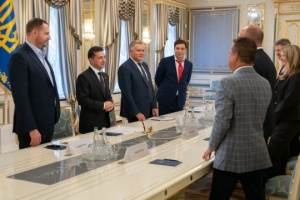 President thanks Ukrainian World Congress for support in countering Russia's return to G7