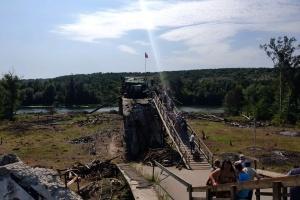 Украинская сторона начала демонтаж укреплений в Станице