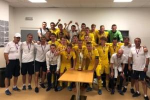 Юношеская сборная Украины по футболу U18 выиграла турнир Вацлава Ежека