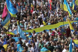 На День Незалежності відбудеться Марш захисників України