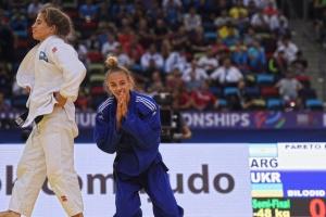 Украинка Дарья Белодед стала двукратной чемпионкой мира по дзюдо