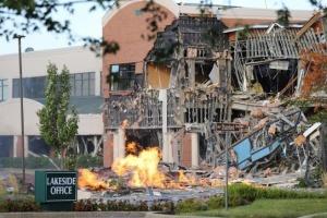 У США стався вибух: зруйнована частина торгового центру