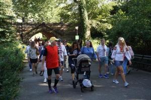 Ко Дню Независимости в Центральном парке Нью-Йорка состоялся забег в вышиванках