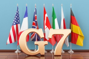 G7 leaders say 'too early' to reintegrate Russia into group