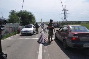 В КПВВ на линии разграничения находилось 295 авто
