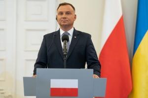 Дуда закликав європейську спільноту не ігнорувати загрозу збоку Росії