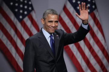 Экс-президент Обама впервые публично выступил на избирательном митинге за Байдена