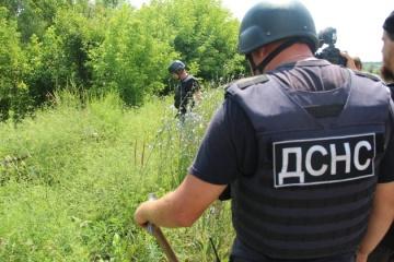 Over 30 mines found near destroyed bridge in Stanytsia Luhanska