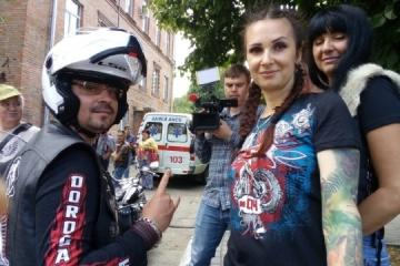 Des motards de toute l'Ukraine ont donné leur sang pour les victimes des accidents de la route (photos)