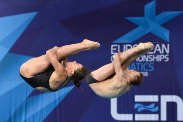 Україна виграла перше «золото» на домашньому ЧЄ зі стрибків у воду
