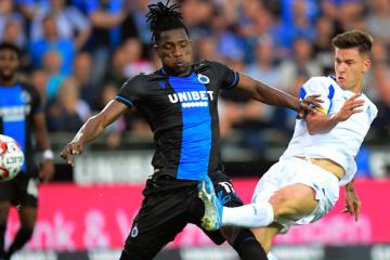 El Dynamo pierde ante el Club Brujas en el primer partido de clasificación de la Liga de Campeones