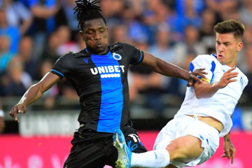 Dynamo Kyiv loses to Brugge in Champions League qualifying