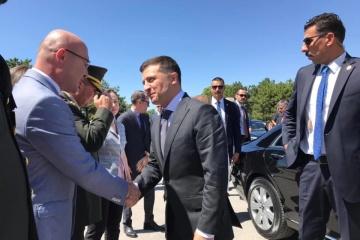 Volodymyr Zelensky s'est rendu en Turquie pour une visite officielle