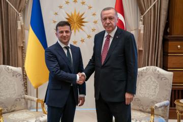 Zelensky et Erdogan ont discuté de la sécurité dans la mer Noire