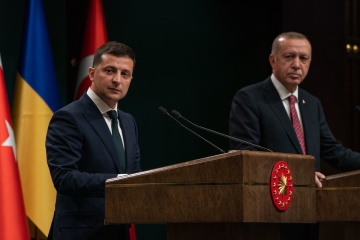 Selenskyj: Ukraine und Türkei können Freihandelsabkommen schließen