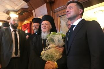 Zelensky se reúne con el Patriarca Bartolomé I en Estambul