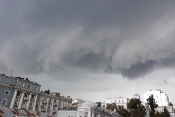 Storm warning declared in Kyiv and its region