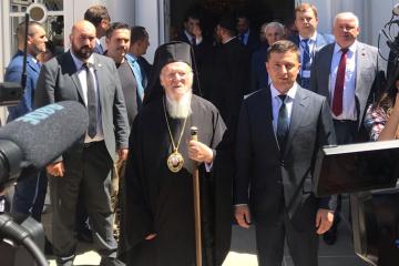 Le président a dévoilé le sujet de sa conversation avec le patriarche œcuménique Bartholomée (vidéo)