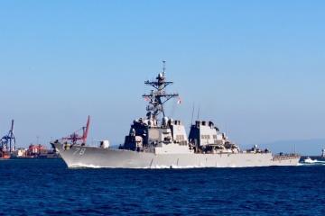 U.S. destroyer enters Black Sea