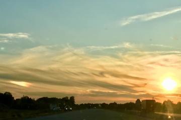 Deux soleils ont été vus à Poltava (PHOTO, VIDEO)