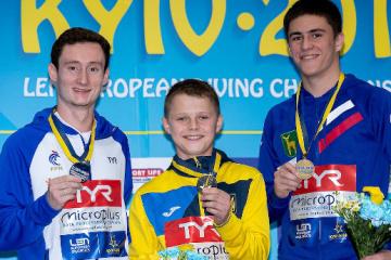El campeón europeo más joven de salto Sereda comparte sus impresiones de la victoria (Vídeo)