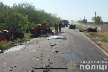 W obwodzie odeskim doszło do potrójnego wypadku: czterech zabitych, troje rannych ZDJĘCIE