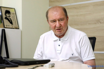 Ilmi Umerov, deputy chairman of the Mejlis of the Crimean Tatar people