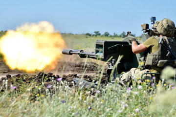 Russian-led forces violate ceasefire in Donbas 10 times. One soldier wounded