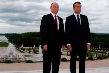 Macron verbindet Russlands mögliche Rückkehr in G8 mit Situation in der Ukraine