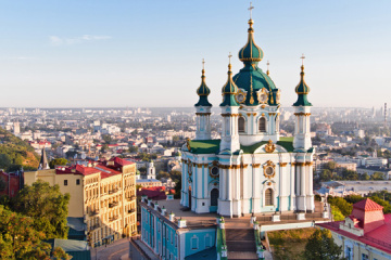 St. Andrew's Church in Kyiv to reopen for visitors