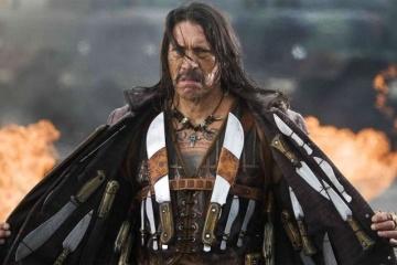 Hollywood-Schauspieler Danny Trejo kommt zum ersten Mal in die Ukraine