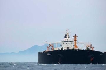 Іранський танкер, якого не змогли арештувати США, залишив Гібралтар