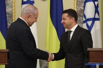 Zełenski wezwał Izrael do uznania Hołodomoru za ludobójstwo WIDEO