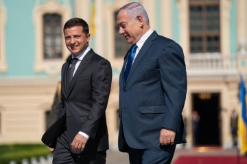 Israels Ministerpräsident Netanjahu begrüßt Inkrafttreten des Freihandelsabkommens mit der Ukraine im Januar