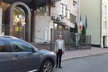 El nuevo embajador francés llega a Kyiv