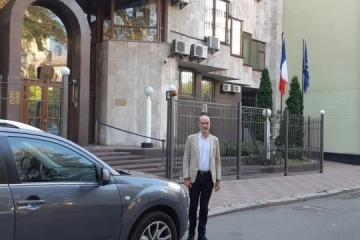 New French ambassador arrives in Kyiv