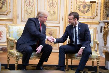 Macron y Trump acuerdan sobre la vuelta de Rusia al G8
