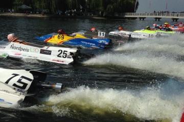 В Тернополе пройдет чемпионат мира по водно-моторному спорту