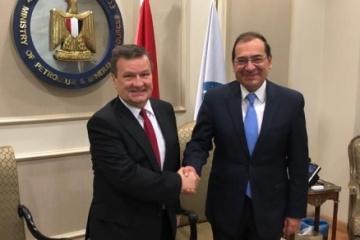 Ukraine und Ägypten erörtern Ausbau der Zusammenarbeit im Energiewesen