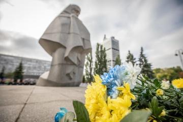 В Киеве почтили память погибших правоохранителей