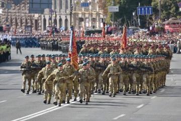 Unabhängigkeitstag: In Kyjiw findet Militärparade statt