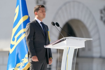 Speech by President of Ukraine on occasion of Independence Day