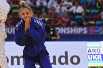 Ukrainka Daria Biłodid została dwukrotną mistrzynią świata w judo ZDJĘCIA, WIDEO