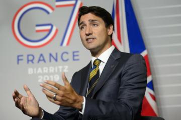 Trudeau: Les actions de la Russie en Ukraine l'empêchent de participer au partenariat du G7